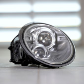 Porsche headlights